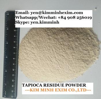 Cassava/tapioca Residue Powder - 50% Min Starch Content - Buy Tapioca  Residue Powder,Tapioca Residue,Tapioca Powder Product on Alibaba com
