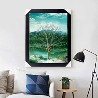 Four reason tree 3d flip modern luxury 3d Lenticular picture for home decoration