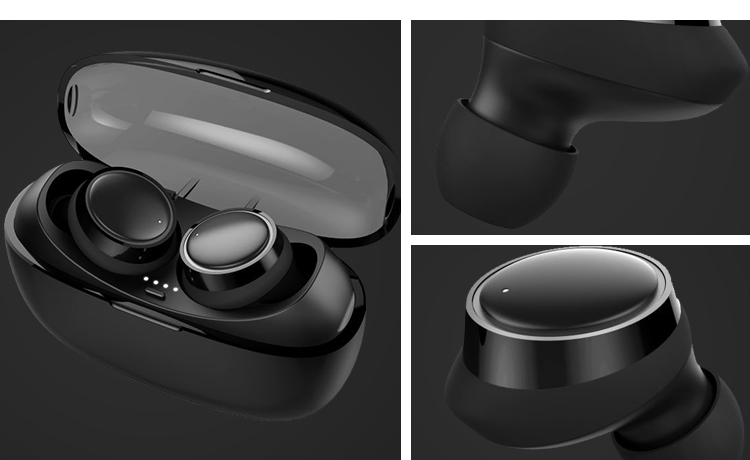 Productos Innovadores 2019 deportes Mini inalámbrico Bluetooth TWS auricular auriculares