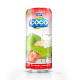 Tasty Strawberry - Coconut Water 250ml can - Tan Do OEM Beverage Manufacturer