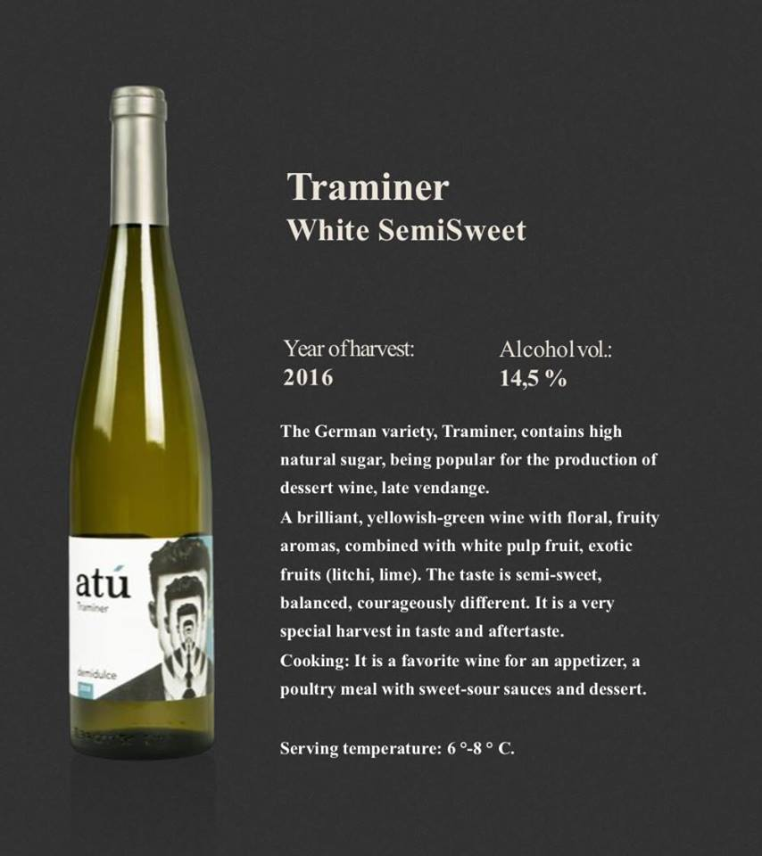 Premium Moldovan Wine / Semisweet Traminer / Atu Winery - Buy White  Wine,Semi Sweet Wine,High Quality Wine Product on Alibaba com