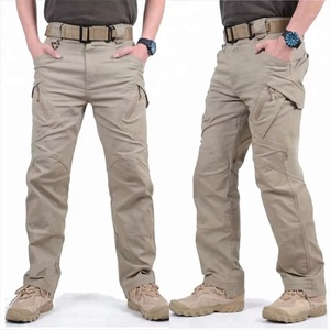 Tactical Pants Man Coming Autumn Multicolored Multi Pocket Washed Jogger Fashion Cargo Pants
