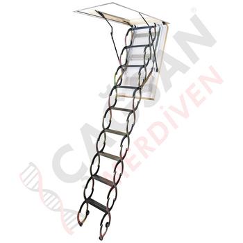 folding loft ladders attic ladders wooden steel