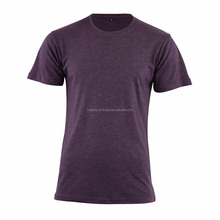 100% Cotton Mens Round Neck Plain Blank T Shirts in Bulk for Wholesaler