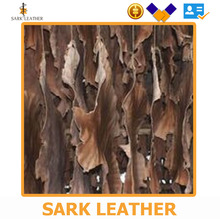 Exclusive Brand new and high quality 18-24 sft size cow crust brown tone leather