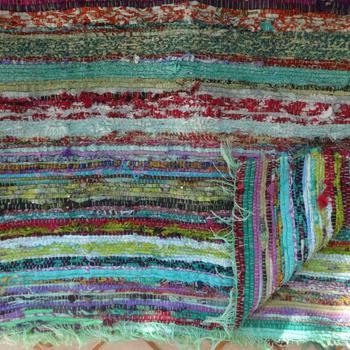 Chindi Rag Rug Indian Handmade Floor