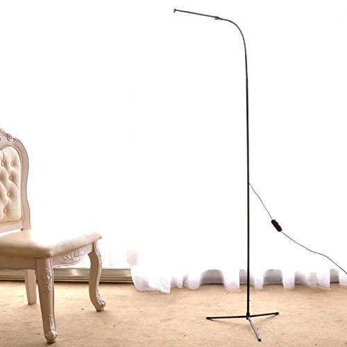 Dimmable Led Floor Standing Lamp Reading Light For Living Room Bedroom With 1 5m Length Usb