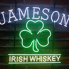 Jameson Irish Neon Zeichen Hellen Neon Licht Display