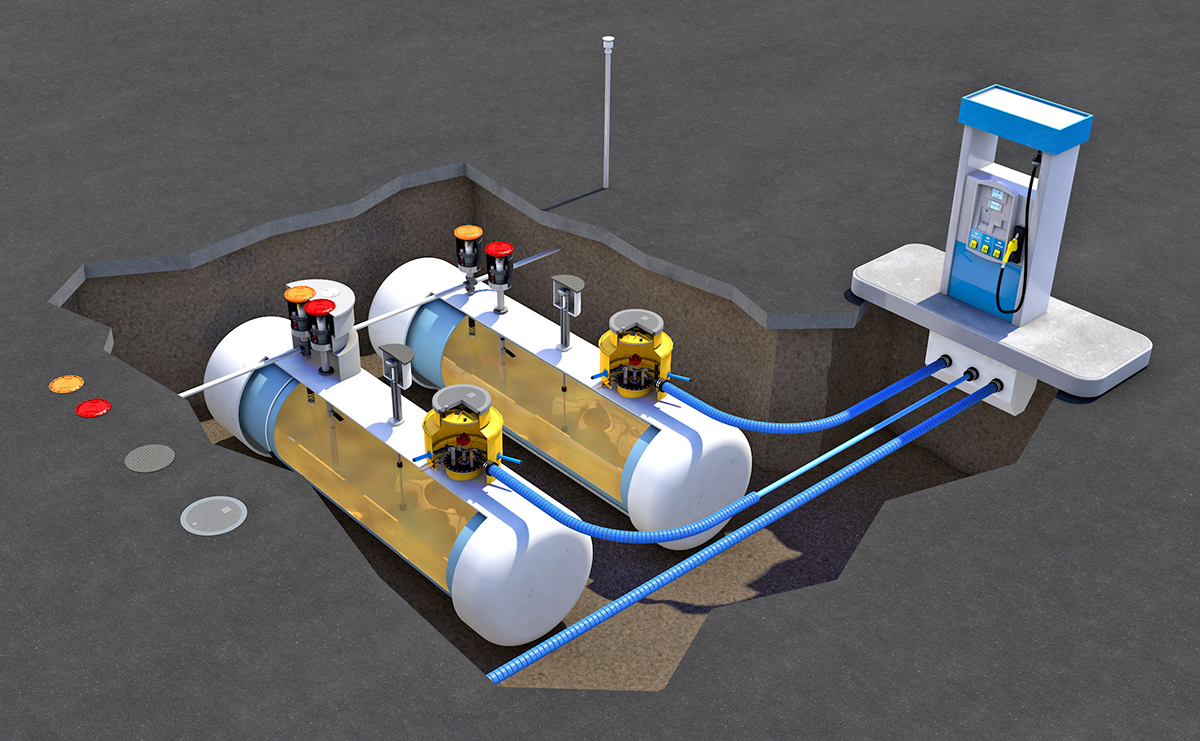 In Stock Underground Anti Corrosion Diesel Fuel Oil ...