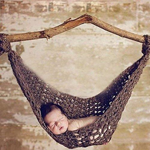 Reasonable Handmade Hammock Cocoon Newborn Baby Boy Girl Photography Props Costume Coffee Photo Studio Camera & Photo