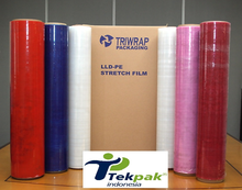 Gekleurde <span class=keywords><strong>Stretch</strong></span> Film-Verpakking Film-LLDPE Cast Wrap Film