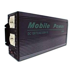 MWGears Modified Sine Wave Power Inverter , Continuous Power 3000W - Peak Power 6000W