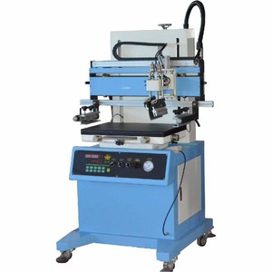CE approved silk screen printing machine pvc id card printing