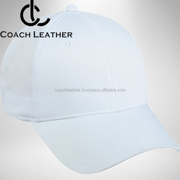 Warna Putih Cotton Fabric Baseball Caps  213da66d85