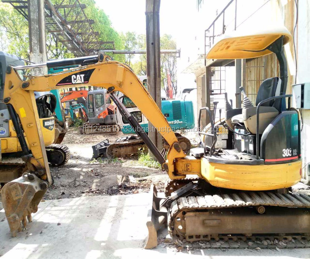 Hot Sale ! Japanese Used CAT 303CR mini Crawler Excavator