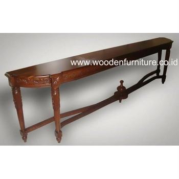 Long Console Table Antique Reproduction