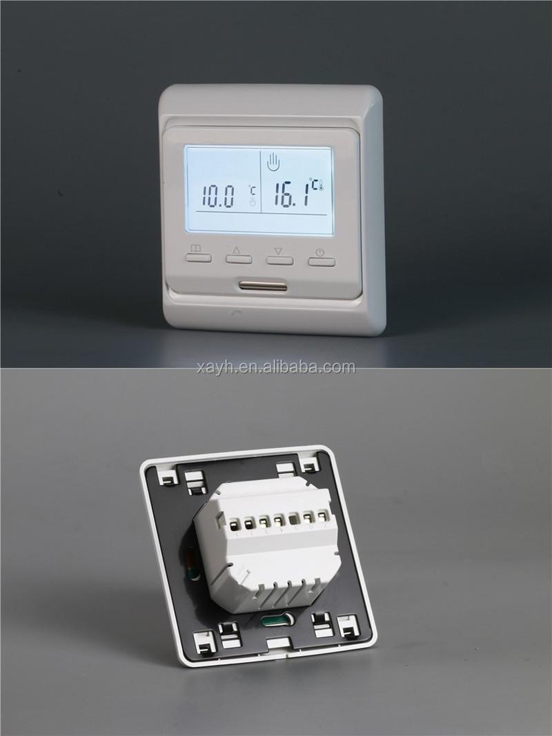 2019 थोक मूल्य तापमान विभिन्न उज्ज्वल मंजिल हीटिंग तापमान नियंत्रक M6 थर्मोस्टेट 220V