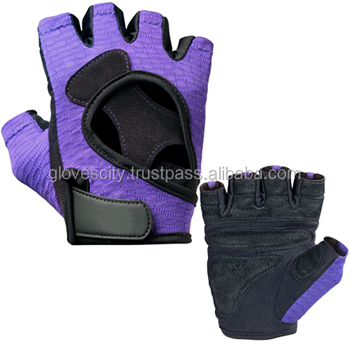 Pro Series with Wrist Support Women Gym Gloves/