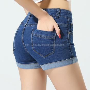 womens shorts denim