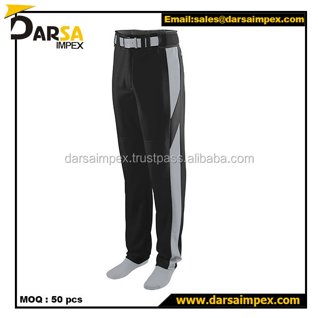 wholesale customized baseball pants for clubs youth baseball wears