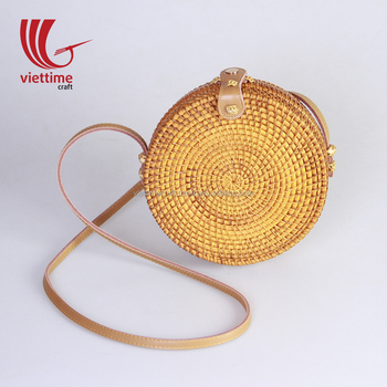 Summer Beach Round Rattan Bag wholesale/ beach bag vietnam/ straw bag