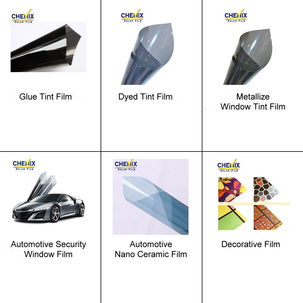 Película de tinte solar para ventana de coche económica