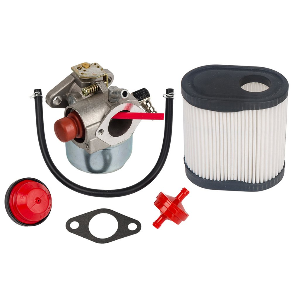 HIFROM Carburetor Carb for Tecumseh TORO Recycler Lawnmowers 20016 20017 20018 6.75 HP Engines with Air Filter for Tecumseh 36905 740083A LEV100 LEV115