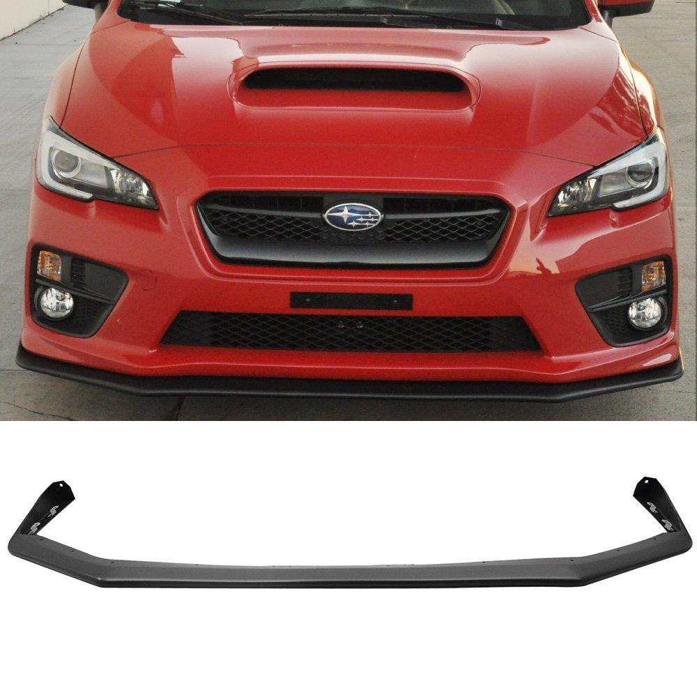 Fits 15-17 Subaru WRX STI Front Bumper Lip Spoiler V-Limited JDM OE Style PP