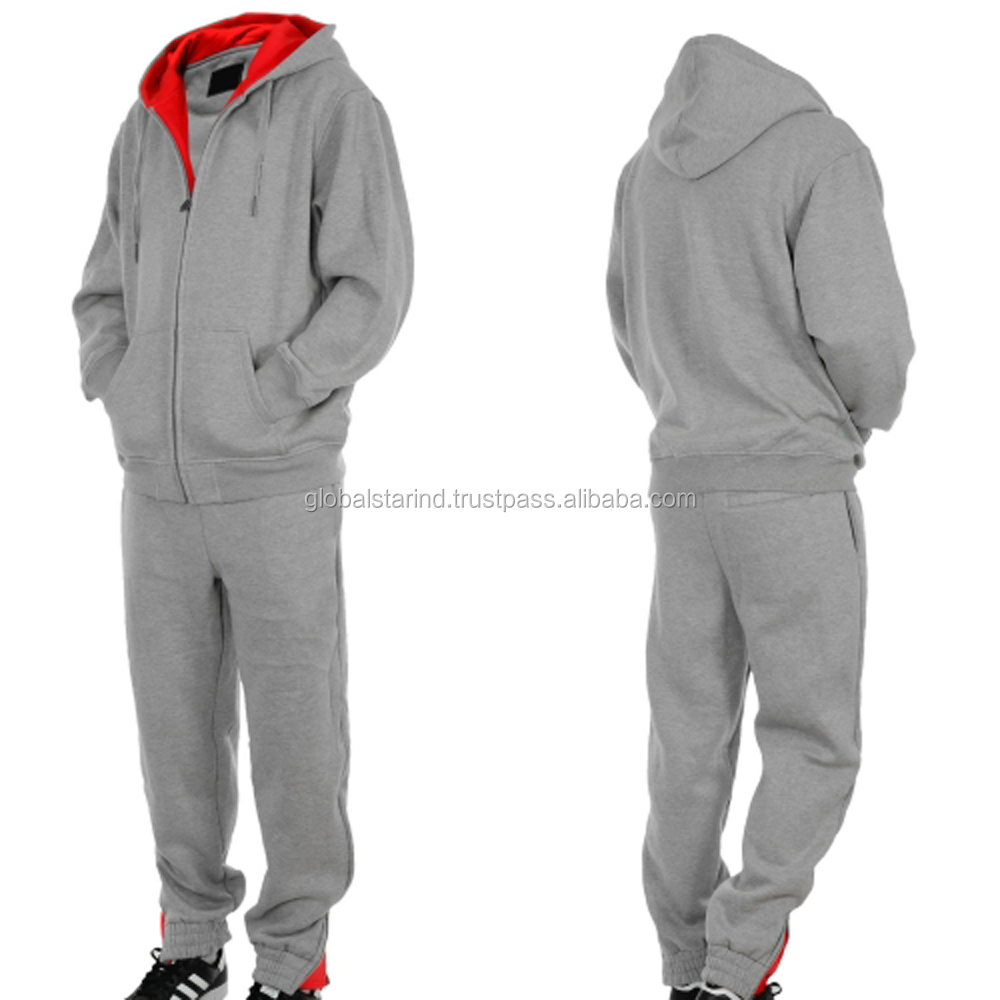 Latest Customized Men Tracksuit / Men Sweatsuit / Custom made Men Jogging Suit