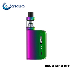 Newest E-Cigar 100% Original 220W Hi-Tech E-cigarette 2ml and 5ml Vape SMOK OSUB King Kit