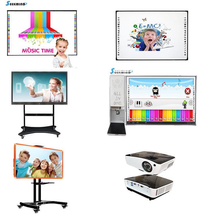 Infrared portable foldable finger touch interactive smart boards for sale