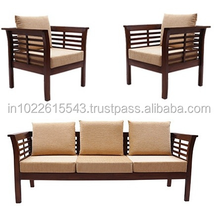 Solid Wood Sofa Set   Buy Solid Wood Sofa Set,Fabric Designs Idea,Modern  Furniture Product On Alibaba.com