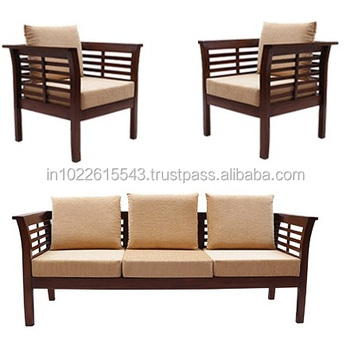 Superbe Solid Wood Sofa Set