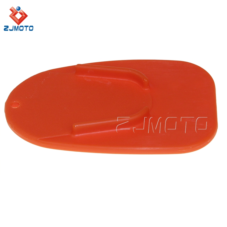 125 80mm Custom Wholesale Motorcycle Kickstand Pad