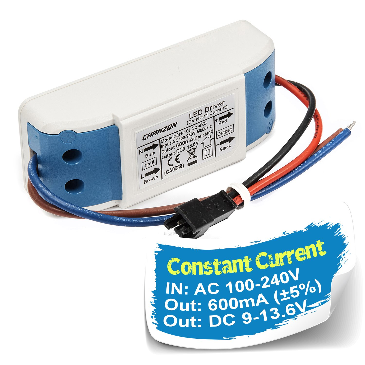 Cheap Constant Current Led Driver Schematic Find 1w Circuit Chanzon 600ma Output 9v 136v Input 85