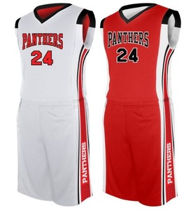 Wholesale Youth & Adult Size Reversible Sublimation Custom Basketball Uniform at Factory price