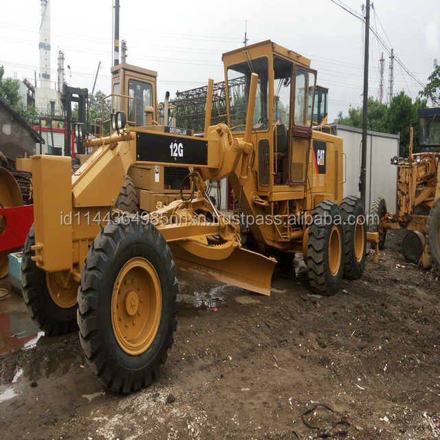 CATERPILLAR 120G 12G used motor grader Japan's original JAPAN champion motor grader parts for sale
