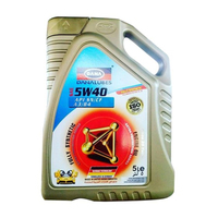 SAE 5W40 Fully Synthetic Gasoline Car Engine Oil Lubricants