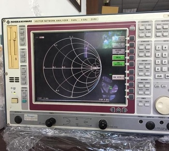 R&s Zvre Vector Network Analyzer 9khz~4ghz Used With A 3 Port Adapter - Buy  Electrical Network Analyzer Vna Analyzer,Used Spectrum Analyzer