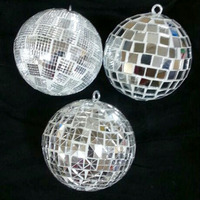 VIXM-16406 Christmas Tree Decorative Top Selling Mosaic Glitter ball