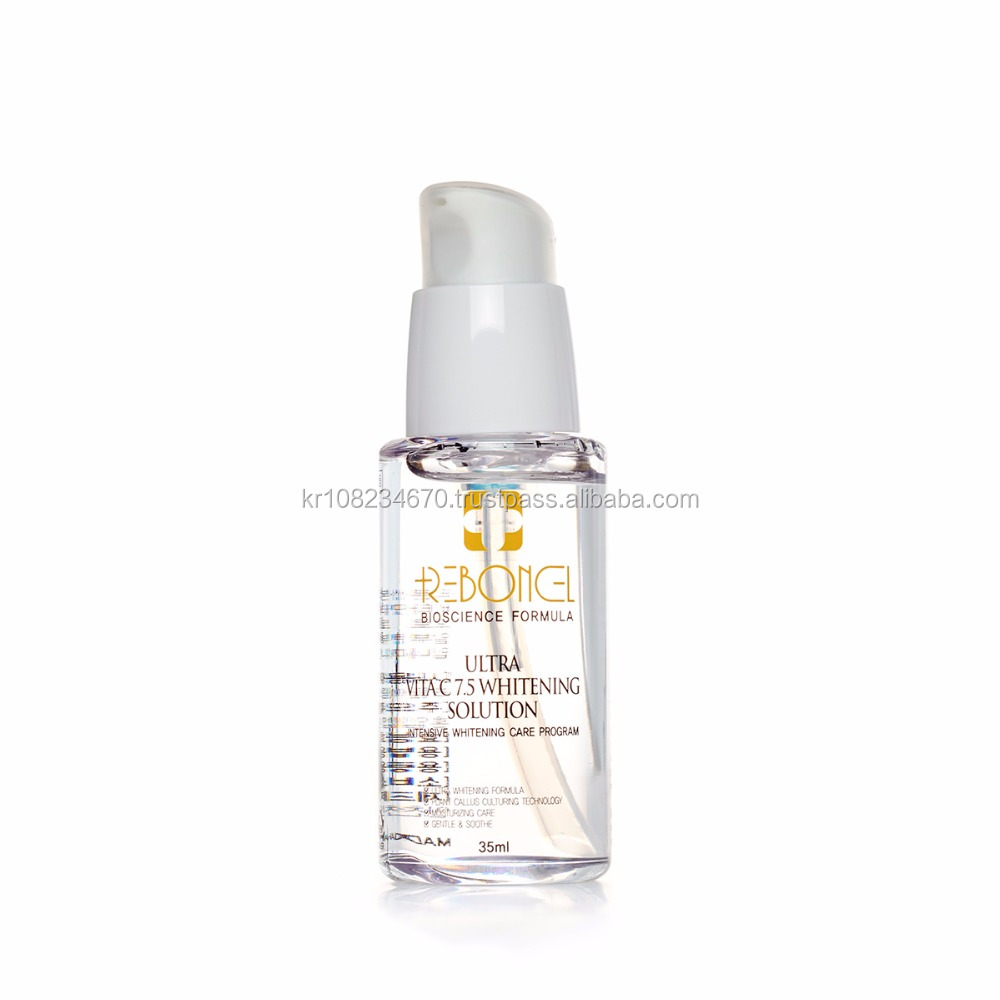 REBORNCELL Ultra Vita C7.5 Whitening Solution, Korean cosmetics, skin care, anti aging, moisturizing
