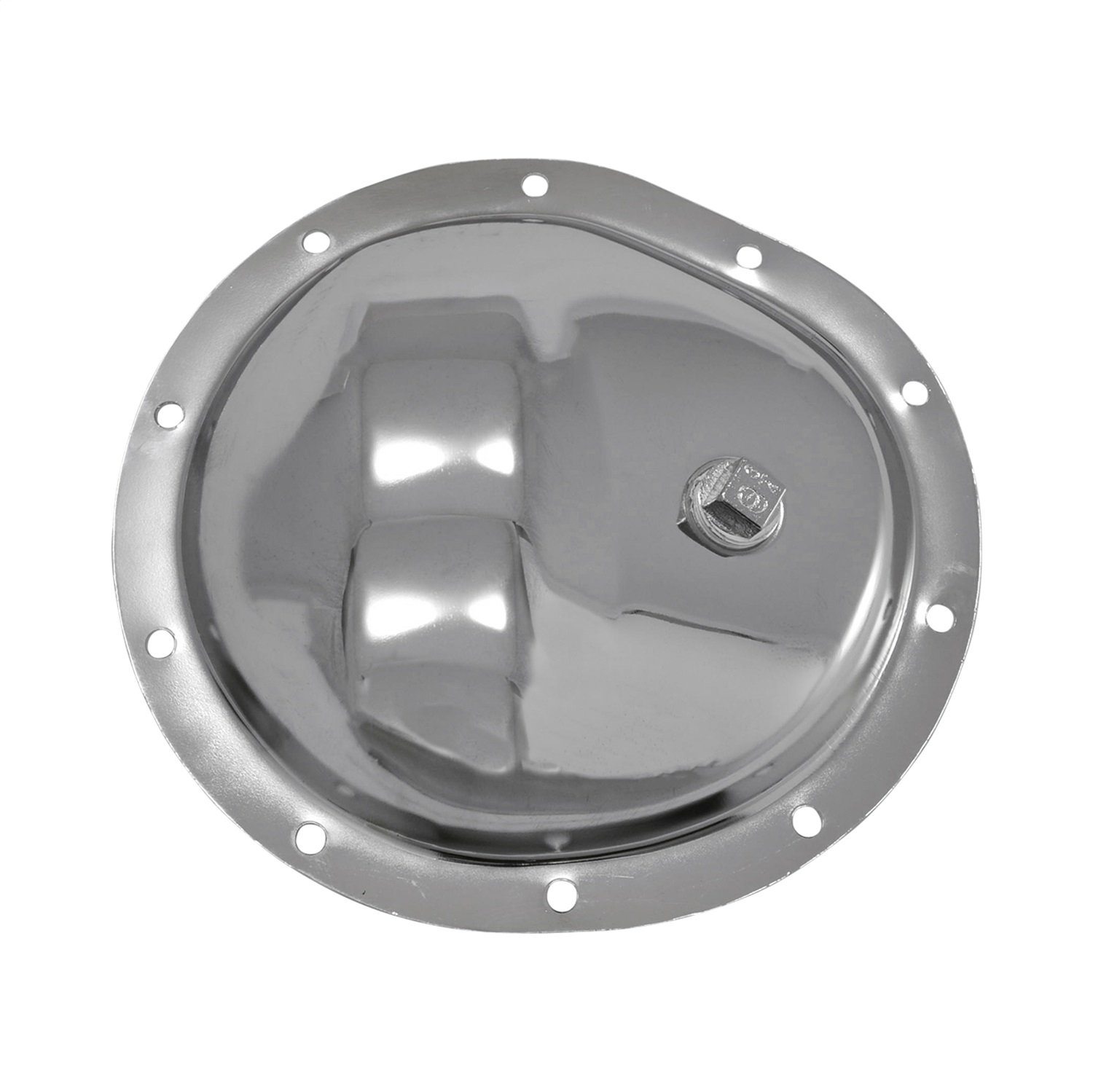 """Yukon (YP C1-GM8.5-F) Chrome Cover for GM 8.5"""" Front Differential"""