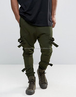 New Fashion cool men dropped crotches trousers hip-hop trousers