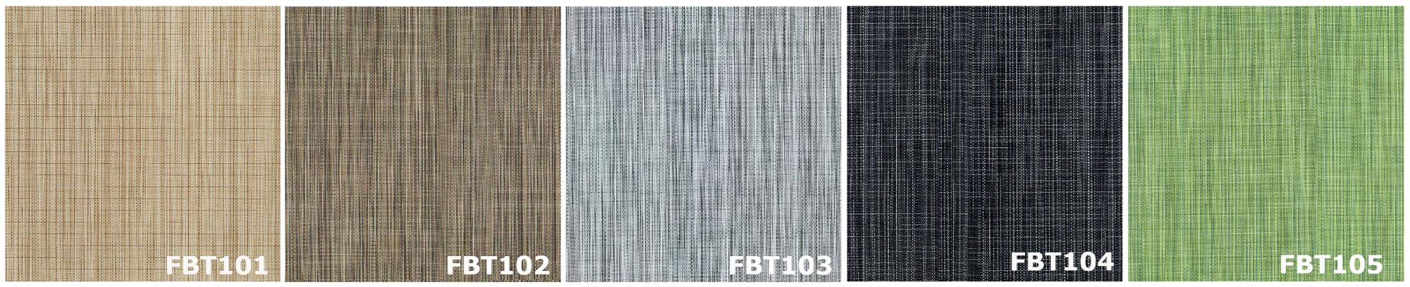 FBT-100 Series, FABTEX TILE, 5 Colors, Sample Availble