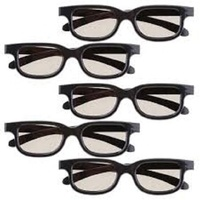 3D Glasses for Cinemas and television