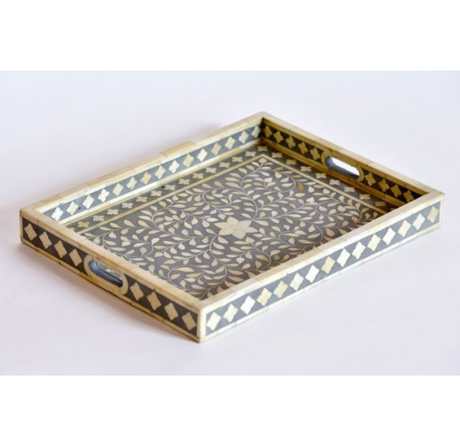 Geometric Bone Inlay Tray