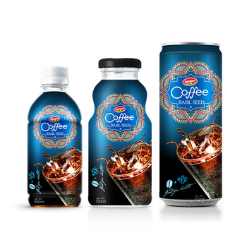 Black Coffee - Iced Coffee Drink Suppliers vietnam in Aluminium can 180ml JOJONAVI beverage brands