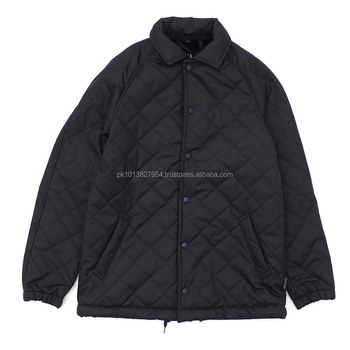 Quilted Coach Jacket Winter Quilted Jacket Man Coach Quilted Jacket
