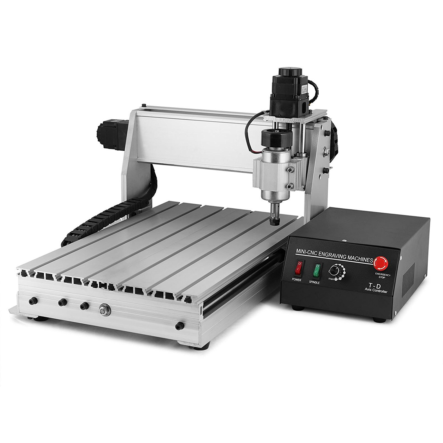 CNCShop CNC Router Engraving Machine CNC Engraver 3 Axis 3040T Wood Carving Tools Controlled By Desktop Computer (3040T 3 Axis)