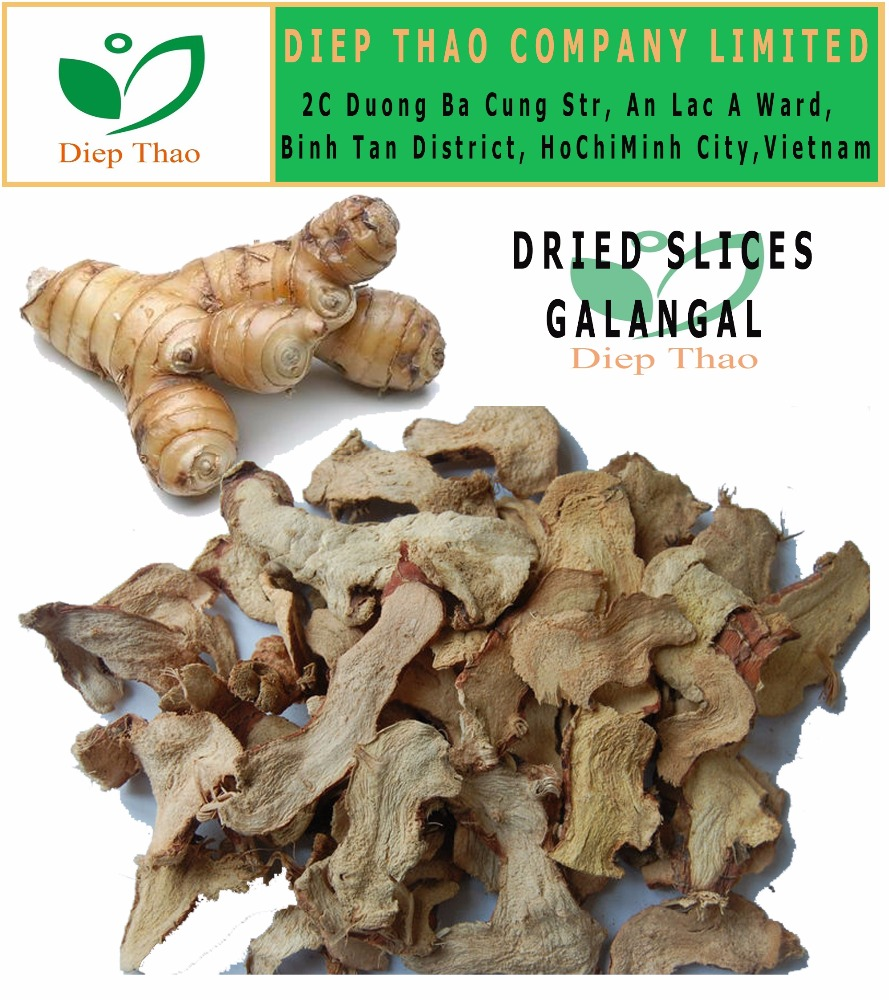 DRIED SLICES GALANGAL ROOT